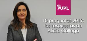 10 preguntas 2019: Las respuestas de Alicia Gallego