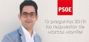 10 preguntas 2019: Las respuestas de Marcos Montiel