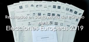 Resultados de las Elecciones Europeas en Santa María del Páramo