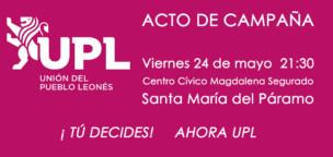 Acto de campaña de UPL