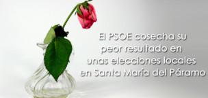 El PSOE cosecha su peor resultado en unas elecciones locales en Santa María del Páramo