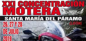 XXI Concentración Motera de Santa María del Páramo (2019)