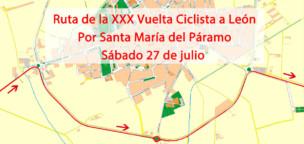 La XXX Vuelta Ciclista a León pasará por nuestro pueblo