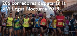 266 corredores disputarán la XVI Legua Nocturna