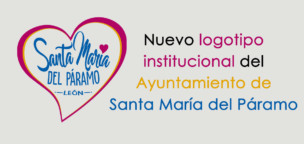 Nuevo logotipo institucional del Ayuntamiento de Santa María del Páramo