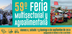 59ª Feria Multisectorial y Agroalimentaria