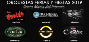 Orquestas Ferias y Fiestas 2019