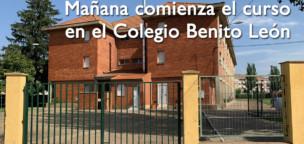 Mañana comienza el curso en el Benito León