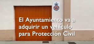 El Ayuntamiento va a adquirir un vehículo para Protección Civil