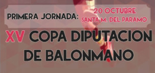 XV Copa Diputación de Balonmano