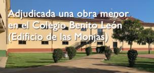 Adjudicada la obra menor del Colegio Benito León