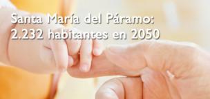 Santa María del Páramo: 2.232 habitantes para 2050