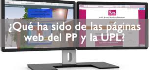 ¿Qué ha sido de las páginas web del PP y la UPL?
