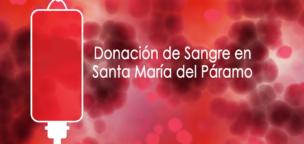 Donación de sangre el lunes 18 de noviembre