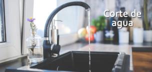 Corte de agua programado para mañana jueves 5