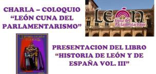 Charla-Coloquio: León cuna del parlamentarismo