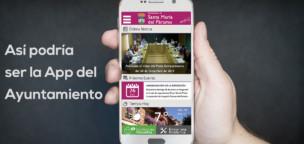 Así podría ser la App del Ayuntamiento