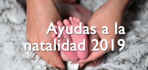Ayudas a la natalidad 2019 en Santa María del Páramo