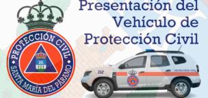 Presentación del vehículo de Protección Civil