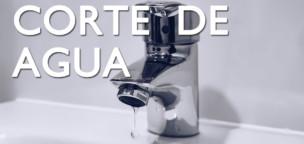 Corte de agua programado mañana martes 11