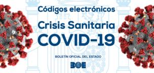 Código electrónico de normativa estatal y autonómica de la