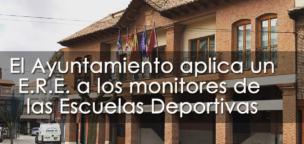 El Ayuntamiento aplica un E.R.E. a los monitores de las Escuelas Deportivas