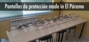 Pantallas de protección made in El Páramo