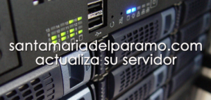 santamariadelparamo.com actualiza su servidor