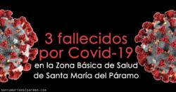 3 fallecidos por Covid-19 en la Zona Básica de Salud de Santa María del Páramo