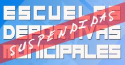 El Ayuntamiento suspende definitivamente las Escuelas Deportivas 2019/20