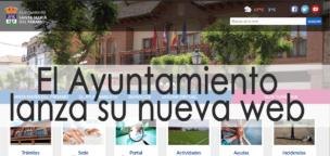 El Ayuntamiento lanza su nueva web