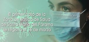 El primer caso coronavirus de la Zona de Salud de Santa María se registró el 15 de marzo