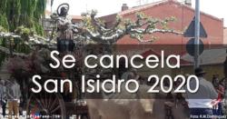 Suspendida la fiesta de San Isidro 2020