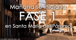 Mañana se inicia la Fase 1 en Santa María del Páramo