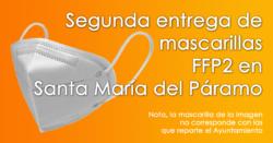 El Ayuntamiento repartirá una segunda mascarilla FFP2 a partir del lunes