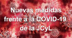 Nuevas medidas frente a la COVID-19 de la JCyL