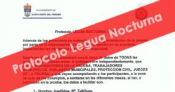 Protocolo para la Legua Nocturna