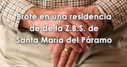 Brote en una residencia de de la Z.B.S. de Santa María del Páramo