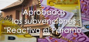 Aprobadas las subvenciones