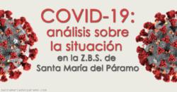 COVID19: análisis sobre la situación de la Z.B.S. de Santa María del Páramo