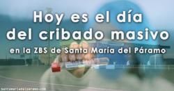 Hoy es el día del cribado masivo en la ZBS de Santa María del Páramo
