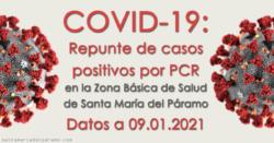 Repunte de casos en la Z.B.S. de Santa María del Páramo