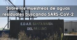 Sobre los muestreos de aguas residuales buscando SARS-CoV-2