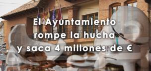 El Ayuntamiento rompe la hucha y saca 4 millones de euros para infraestructuras