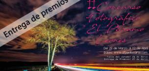 Entrega de premios del II Concurso Fotográfico El Páramo Leonés