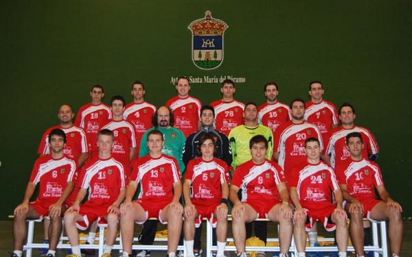 Atletico Paramés sección Balonmano en la temporada 2011-12