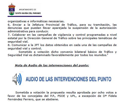 audio acta
