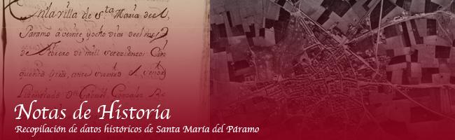 Historia de Santa María del Páramo
