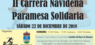 II Carrera Navideña Paramesa Solidaria