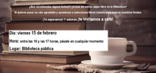 Café con libros